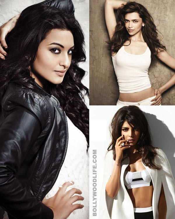 Sonakshi Sinha beats Deepika Padukone and Priyanka Chopra to become 100 crore movie queen!
