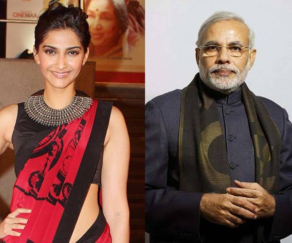 What's common between Sonam Kapoor and Narendra Modi?