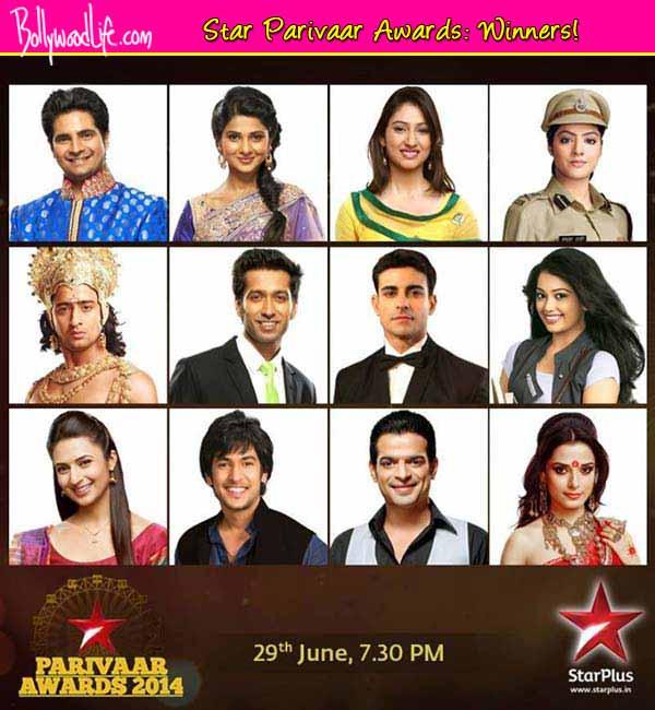 Star Parivaar Awards 2014 winners list: Yeh Hai Mohabbatein wins six awards!