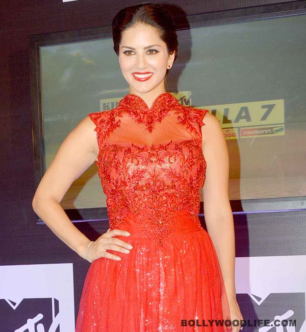 Was anyone able to woo Sunny Leone at the Spiltsvilla 7 launch in Delhi?