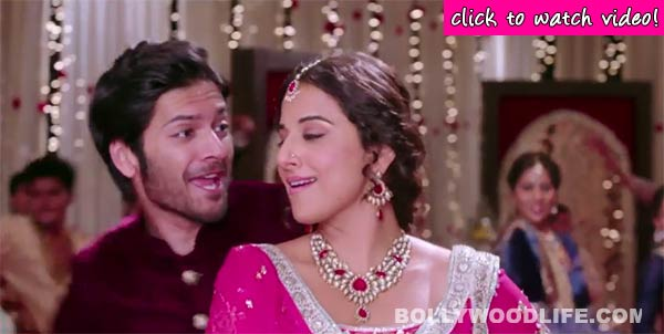 Bobby Jasoos song Sweety making: Vidya Balan and Ali Fazal have go crazy in this wedding song!