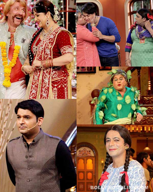 Comedy Nights with Kapil: Gutthi, Palak, Dadi or Pinky Bua – who is for your favorite character? Vote!