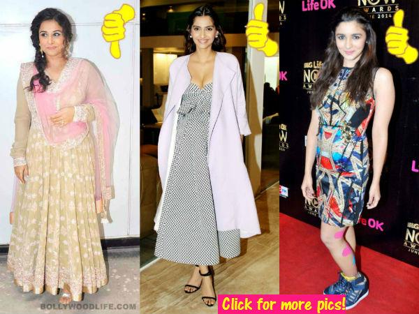 Alia Bhatt, Sonam Kapoor, Rani Mukerji: The best and worst dressed of this week