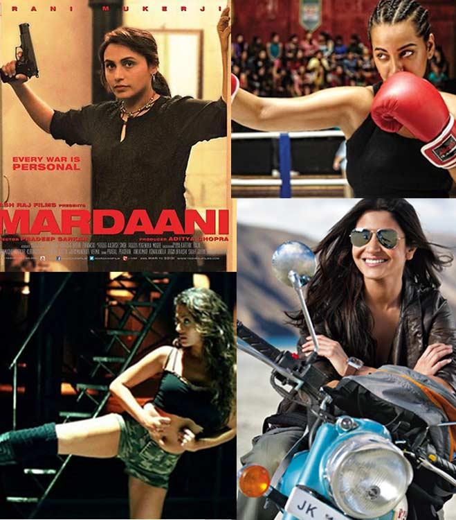 Rani Mukerji, Aishwarya Rai Bachchan and Sonakshi Sinha - meet the new action babes of Bollywood!