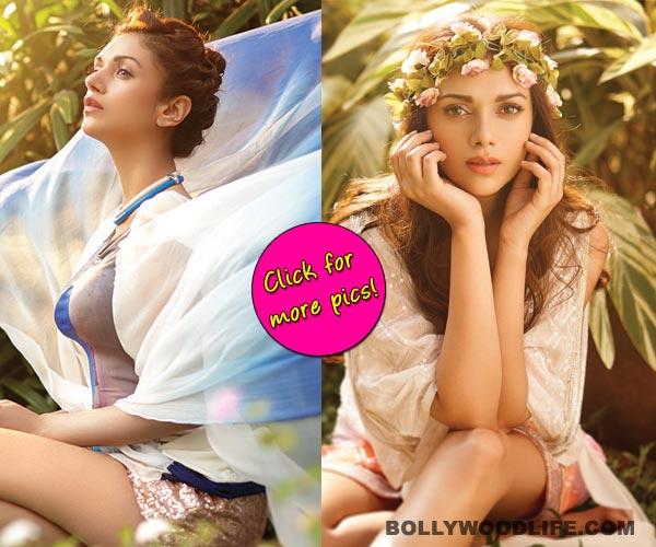 Aditi Rao Hydari turns a sexy angel for a photoshoot!