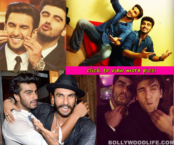 Arjun Kapoor and Ranveer Singh: The besties of B-Town