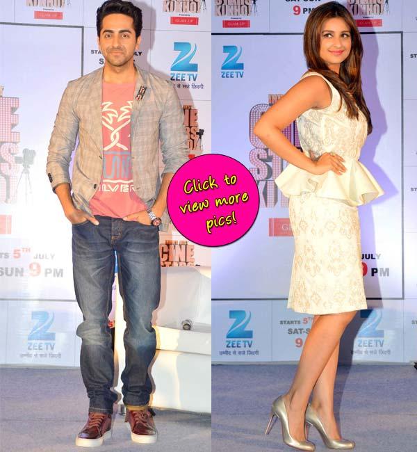 Parineeti Chopra and Ayushmann Khurrana turn mentors for a show- View pics!