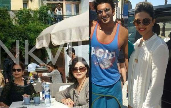 Who is upset over Deepika-Ranveer and Virat-Anushka's candid pictures in Barcelona?