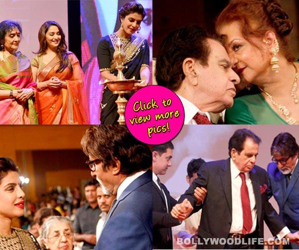 Priyanka Chopra, Aamir Khan, Amitabh Bachchan, Madhuri Dixit attend Dilip Kumar's biography launch - View pics!