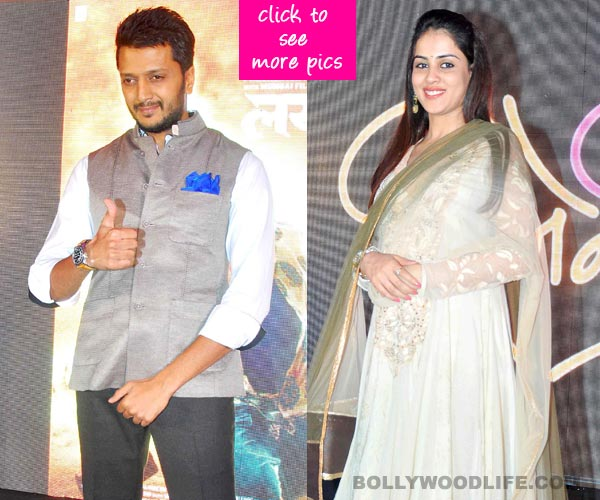 Genelia D'Souza Deshmukh spotted with a baby bump