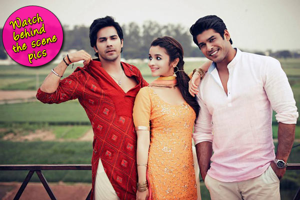 Did Varun Dhawan, Siddharth Shukla and Alia Bhatt gel along on the sets on Humpty Sharma Ki Dulhania?-View pics!