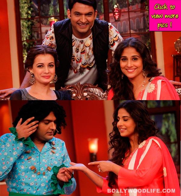 Comedy Nights with Kapil: Vidya Balan and Dia Mirza get welcomed by Ungli Baba!