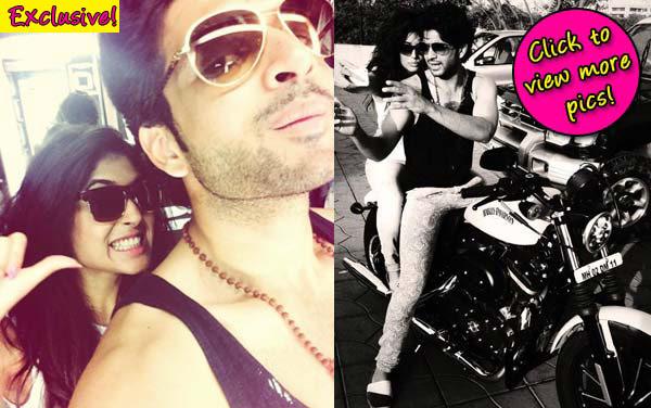 Kritika Kamra goes on a bike ride with ex-boyfriend Karan Kundra – view pics!