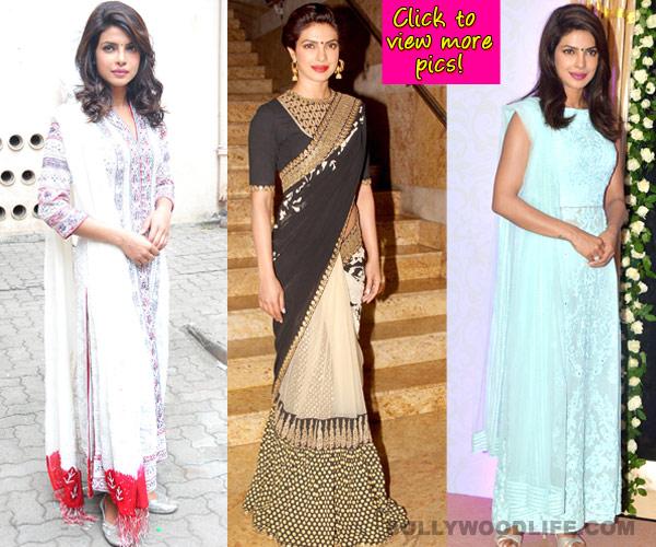 Priyanka Chopra flaunts her desi side - view pics!