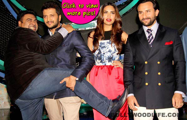 Saif Ali Khan, Riteish Deshmukh and Ram Kapoor promote Humshakals on DID Little Masters