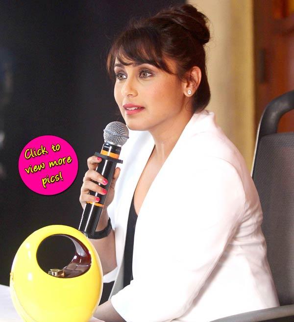 Rani Mukerji at Mardaani trailer launch- View pics!