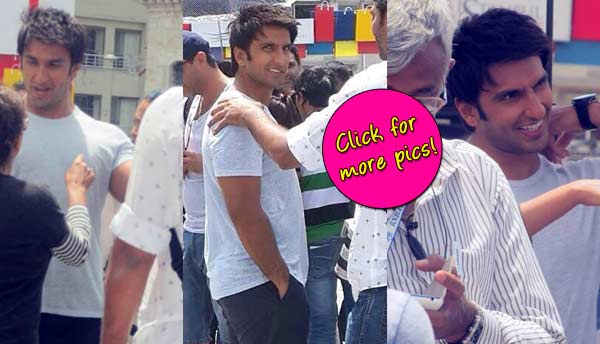 Spotted: Ranveer Singh on the sets of Dil Dhadakne Do!