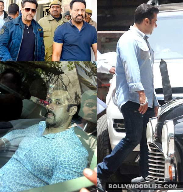 Why is Salman Khan wearing blue to court hearings ?