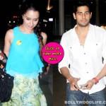 Sidharth Malhotra and Shraddha Kapoor return from Jaipur promotions of Ek Villain!