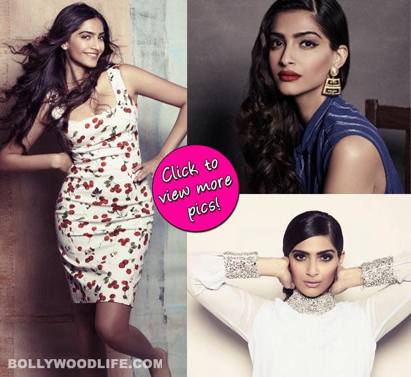 Sonam Kapoor photoshoot: The fashionista not at her fashionable best!