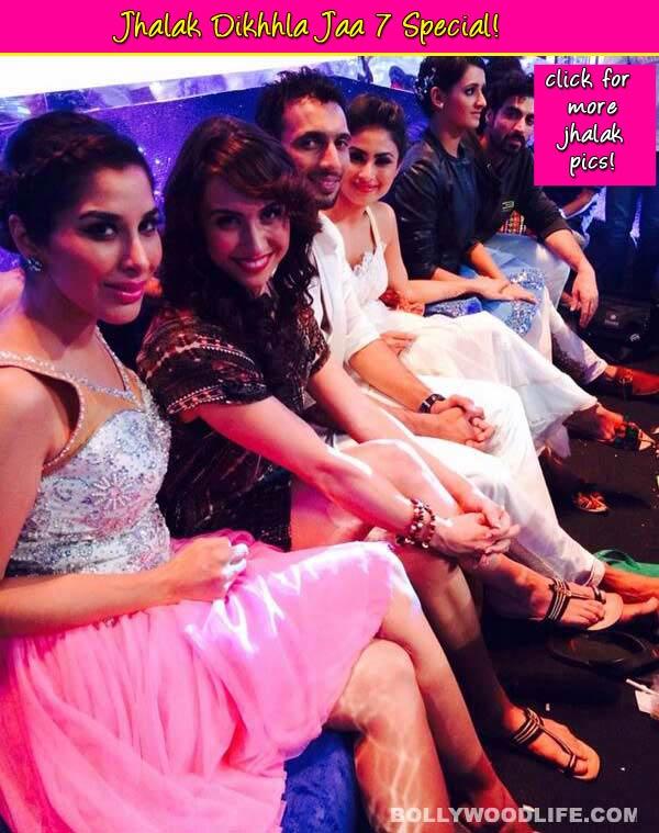 Jhalak Dikhhla Jaa 7: Siddharth Shukla, Drashti Dhami, Karan Tacker chilling on the sets - View pics!