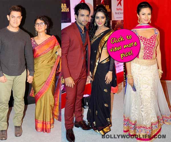 Star Parivaar Awards 2014: Aamir Khan, Yeh Hai Mohabbatein's Ishita, Rithvik Dhanjani attend the show - View pics!