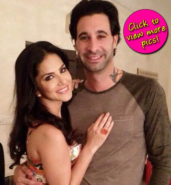 Who was Sunny Leone's date on the sets of Splitsvilla 7?