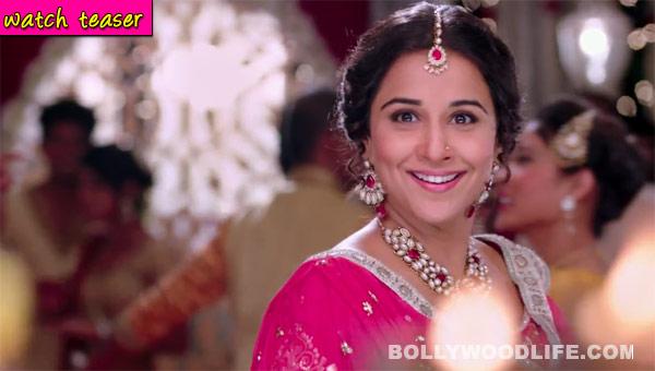 Bobby Jasoos song Sweety teaser: Vidya Balan looks pretty all decked up!