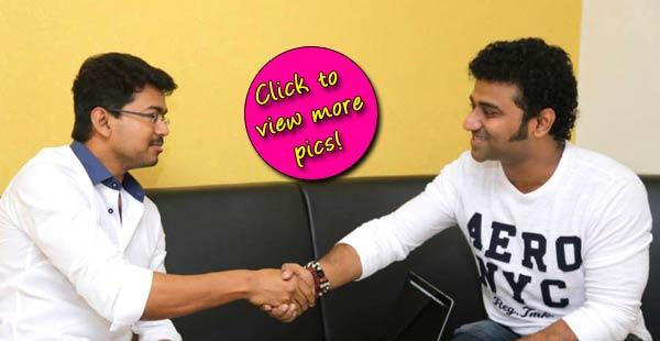 Vijay releases Devi Sri Prasad's video song – view pics!