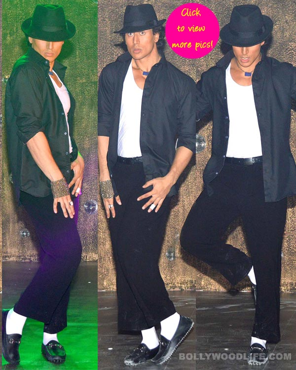 Tiger Shroff turns Michael Jackson, shoots for the tribute video - View pics!