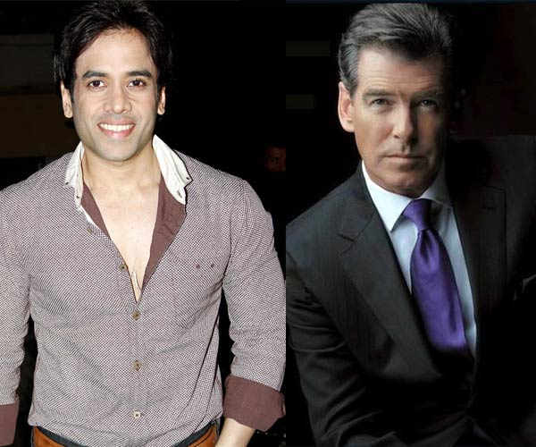 Tusshar Kapoor to act alongside Pierce Brosnan?