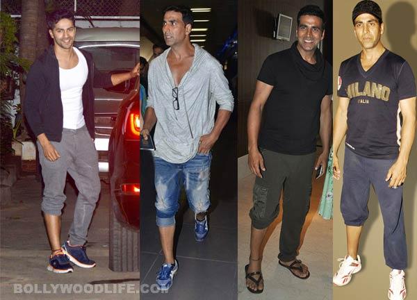 Is Varun Dhawan awestruck by Akshay Kumar's style?