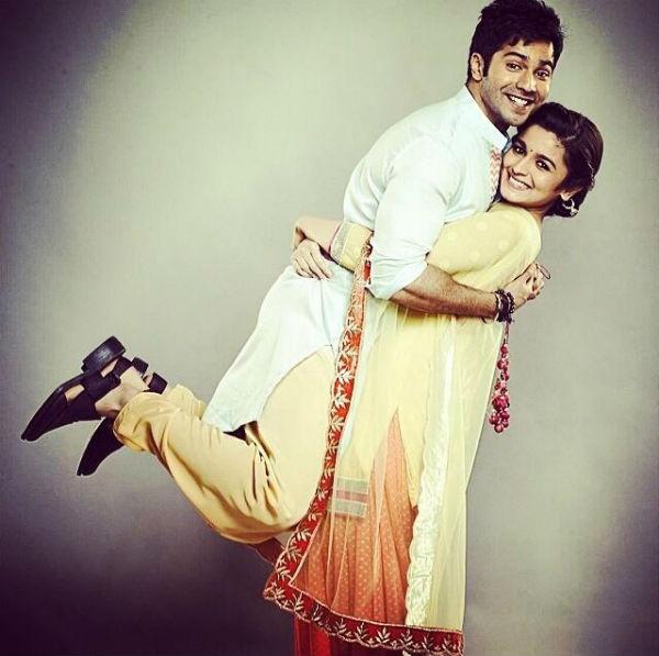 Varun Dhawan and Alia Bhatt as Humpty and Kavya look super adorable-Watch videos!