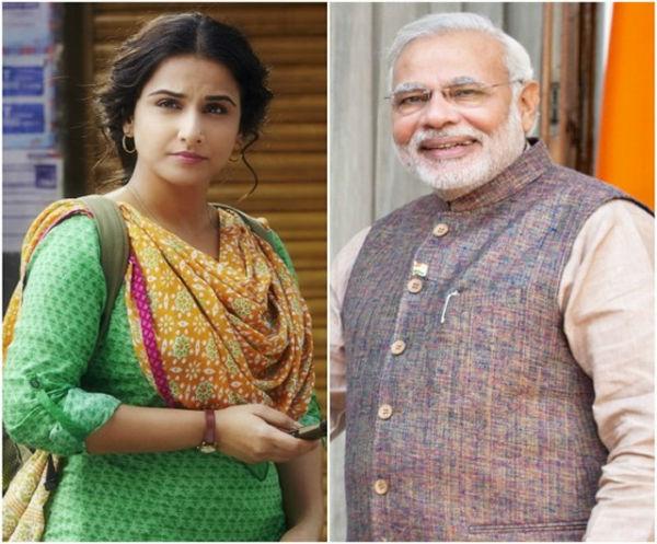 Vidya Balan: By disguising as Narendra Modi, I wanted to pay tribute to him