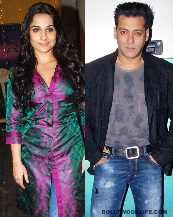 Vidya Balan soon to make announcement about Salman Khan's Kick