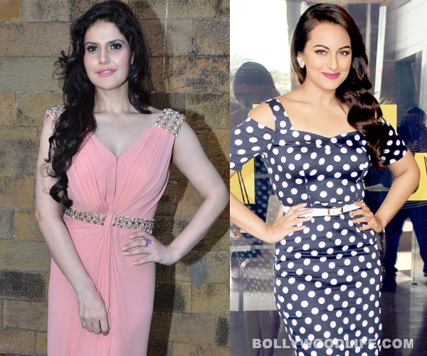 Is Zarine Khan jealous of Sonakshi Sinha's success?