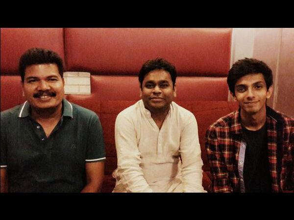Anirudh Ravichander croons for Shankar's Ai