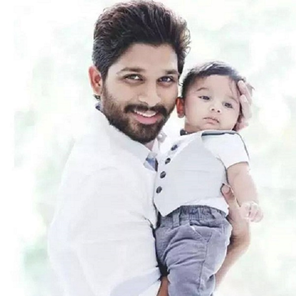 Allu Arjun reveals first pictures of baby Ayaan!