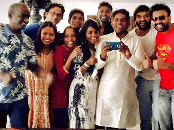 Yuvan Shankar Raja celebrates his first Eid after embracing Islam!