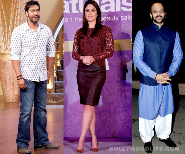 Kareena Kapoor, Ajay Devgn and Rohit Shetty to team up for Golmaal 4?