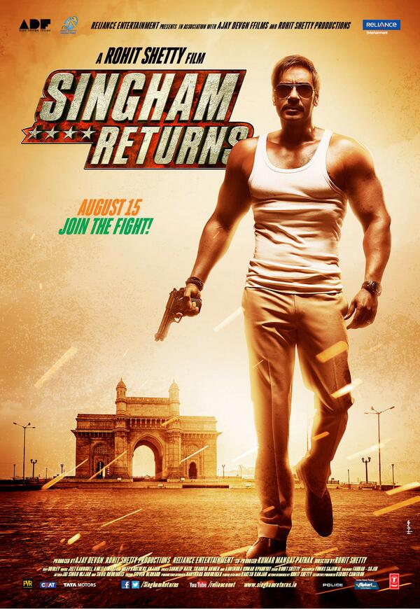 What is Ajay Devgn's Singham Returns all about?