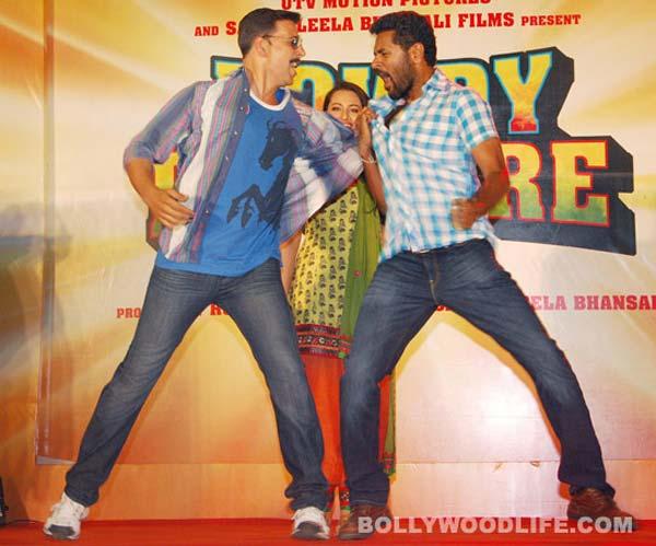 Akshay Kumar to team up with Prabhu Dheva for Rowdy Rathore sequel!