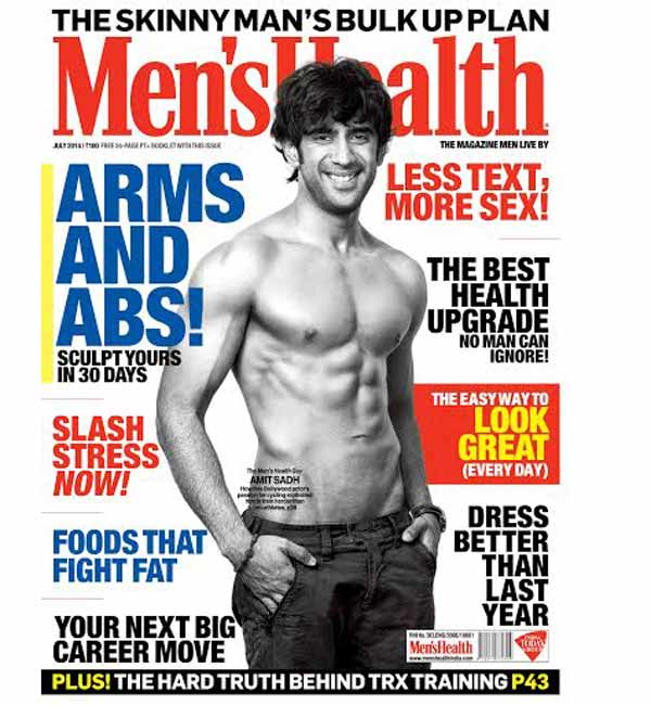 Amit Sadh goes shirtless for a covershoot – view pic!