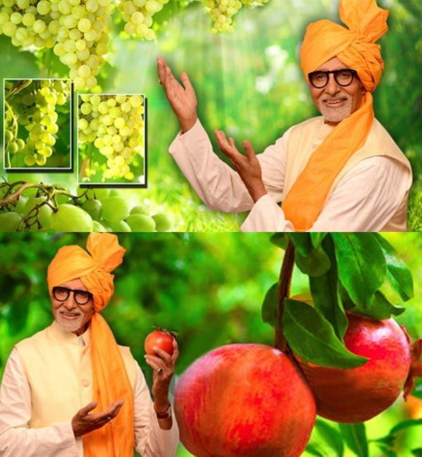 Amitabh Bachchan endorses a campaign for free, again!