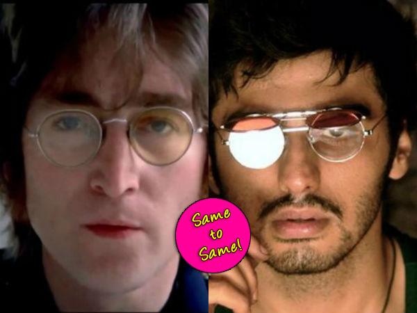 Arjun Kapoor's Finding Fanny look inspired by John Lennon?