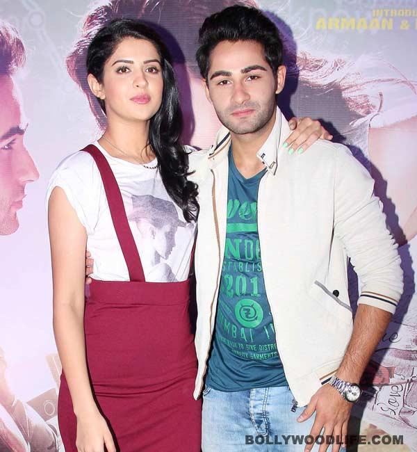 Did Deeksha Seth make Armaan Jain nervous?