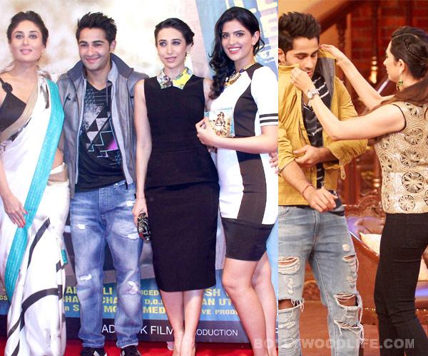 Karisma Kapoor and Kareena Kapoor root for cousin Armaan Jain's Lekar Hum Deewana Dil