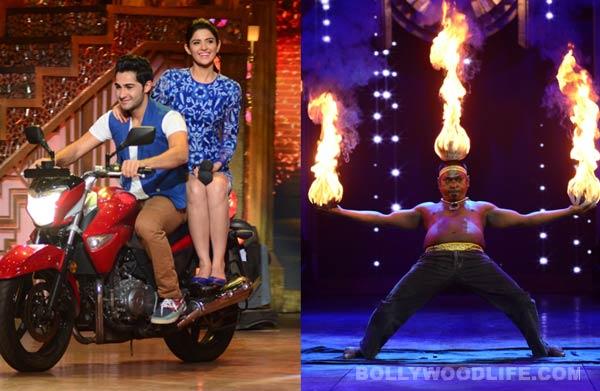 Entertainment Ke Liye Kuch Bhi Karega: Armaan Jain does a Raj Kapoor on the show!