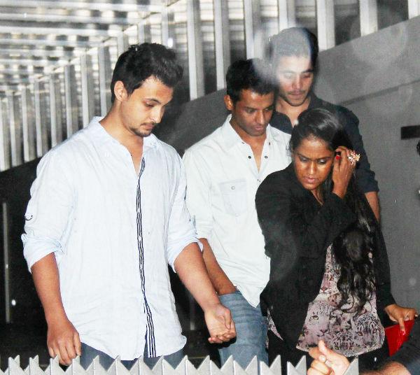 Spotted: Salman Khan's sister Arpita Khan with beau Aayush Sharma