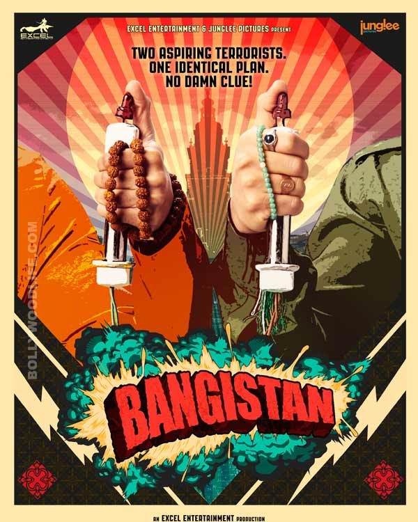 Bangistan teaser poster: Riteish Deshmukh and Pulkit Samrat on a suicide mission?